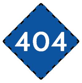 404 blue white
