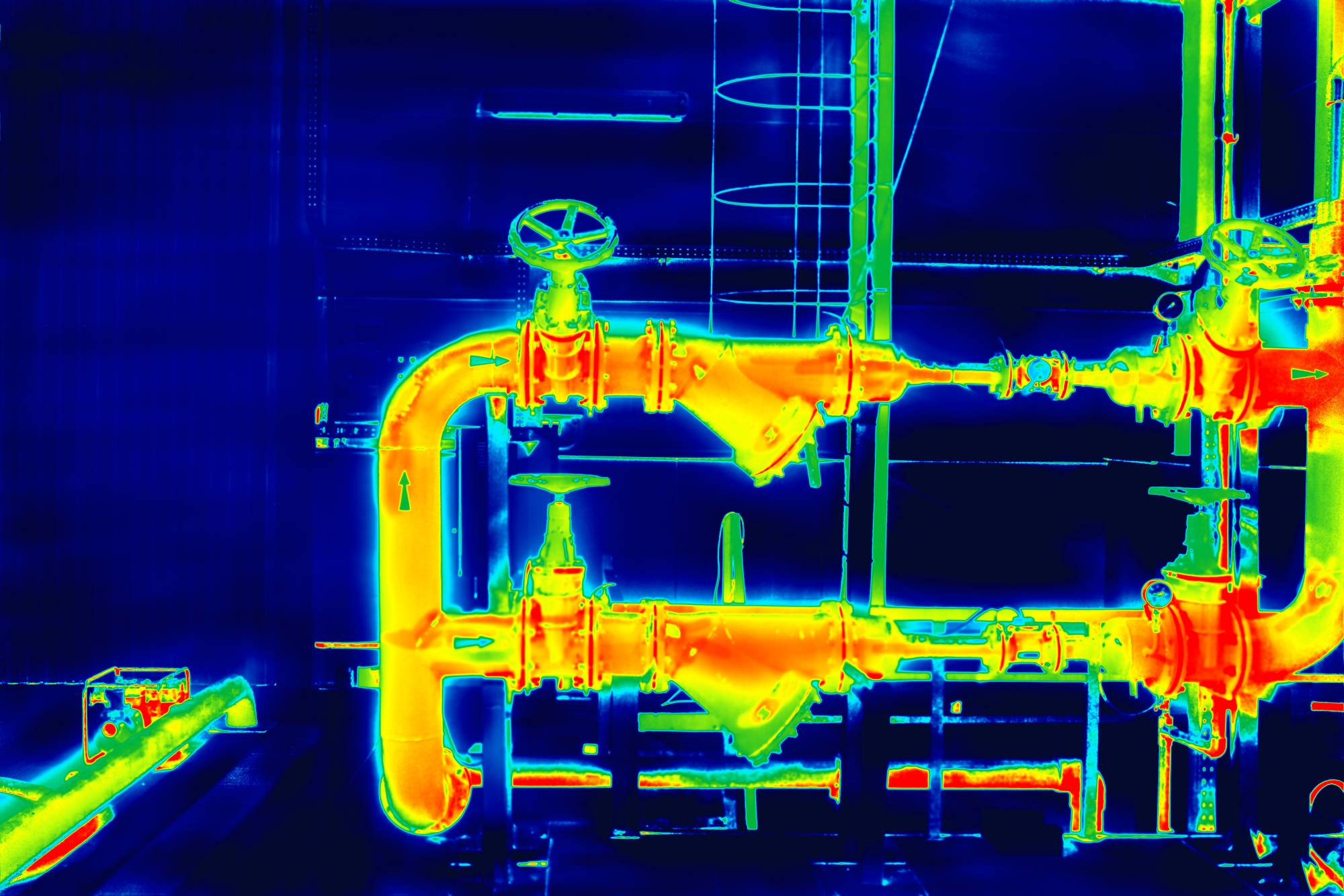 NDT Method - Eddy Current Testing - Thermographic Image