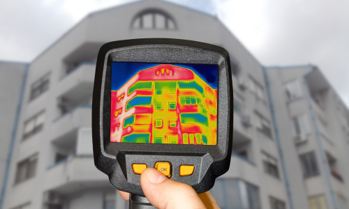 NDT Method - Infrared Thermographic Testing - Thermal Camera