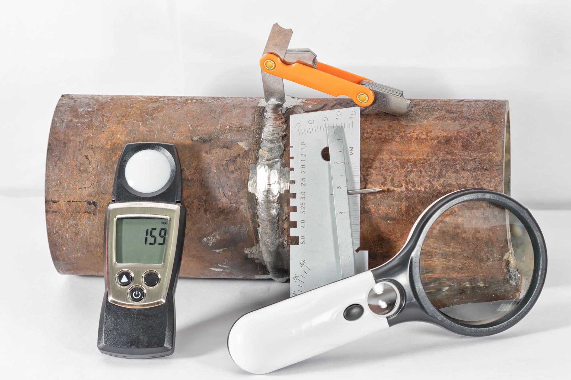 NDT Method - VIsual Testing - Instruments